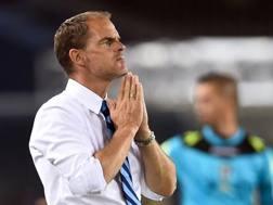 Frank de Boer, 46 anni, dopo 8 partite in campionato sulla panchina dell'Inter � gi� a rischio AFP