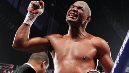 Bernard Hopkins, il pi� anziano campione del mondo nella storia della boxe. Reuters