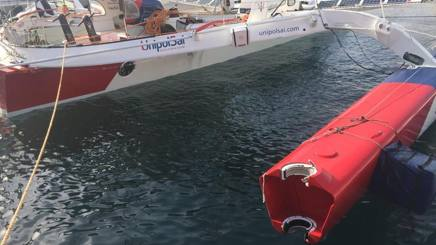 Maserati danneggiato e attraccato a Malta