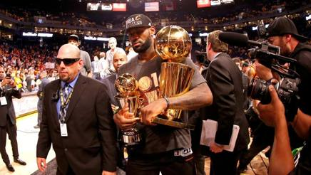 LeBron James, 31 anni, ala dei Cleveland Cavaliers. Getty Images