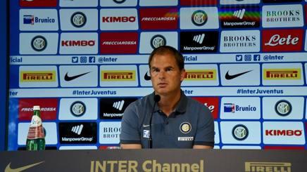 Inter, De Boer in conferenza stampa: seguila LIVE