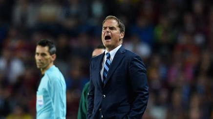 """De Boer: """"Esonero? Non si vince da 5 anni, non posso riuscirci in 2 mesi"""""""