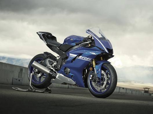 La nuova Yamaha R6