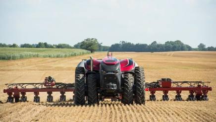 Il trattore concept Cnh senza cabina per l'operatore presentato in Iowa