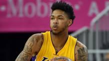 Brandon Ingram, 19 anni, indosser� la maglia numero 14 dei Los Angeles Lakers. Afp