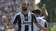 Gonzalo Higuain, 28 anni, attaccante argentino della Juventus. LaPresse