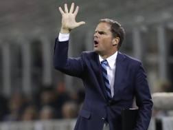 Frank De Boer, tecnico dell'Inter. Ap