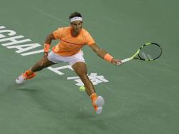 L'ultima apparizione stagionale di Rafa Nadal, a Shanghai. Getty
