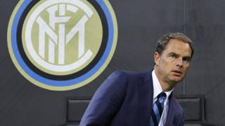 Frank de Boer, 46 anni, all'Inter dal 9 agosto. LaPresse