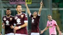 Al centro, Adem Ljajic, 25 anni, attaccante serbo del Torino. LaPresse