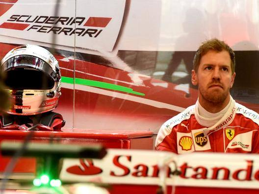 Sebastian Vettel, 29 anni. Colombo