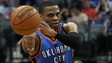 Russell Westbrook, 27 anni. Ap