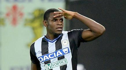 Duvan Zapata, seconda stagione all'Udinese. Lapresse