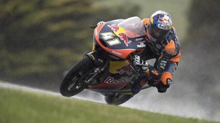 Brad Binder, fresco iridato della Moto3. Getty
