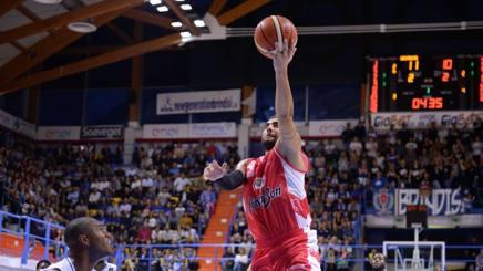 Pietro Aradori in azione
