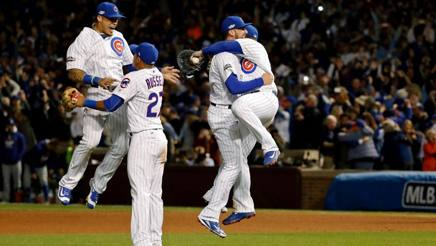 La festa dei Chicago Cubs. Reuters