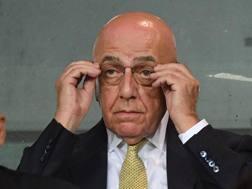 Adriano Galliani, 72 anni. Ansa