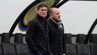 Javier Zanetti (sin) e Piero Ausilio . Getty Images