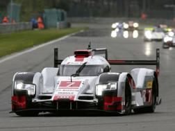 La 24 Ore di Le Mans 2015 guidata dall'Audi. Archivio