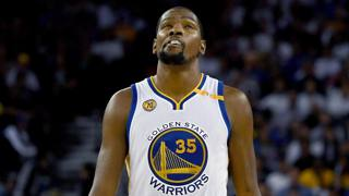 Kevin Durant, 28 anni. Afp