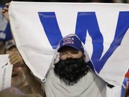 I tifosi dei Cubs in festa: la serie è 3-3