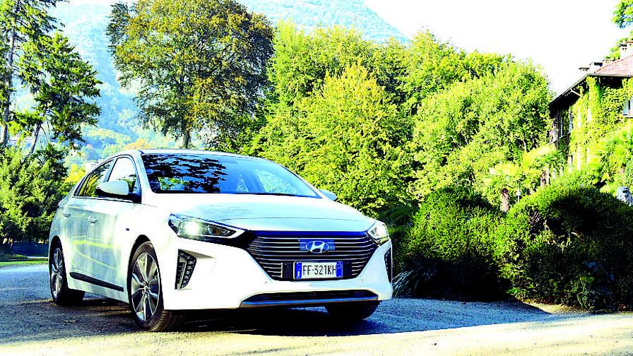 La Hyundai Ioniq ibrida alla prova dei consumi