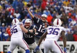 Tom Brady, 39 anni, quarterback dei Patriots REUTERS