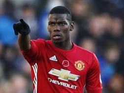 Paul Pogba ora al Manchester United. Reuters