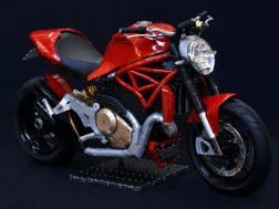La Ducati Monster 1200 S della Meccano