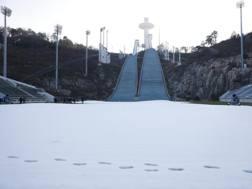 I trampolini di Pyeongchang