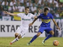 Rodrigo Bentancur, 19 anni, in azione. Ap