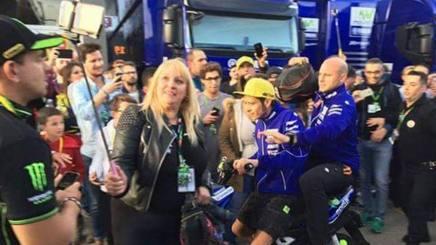 L'investimento di Rossi nel paddock di Valencia