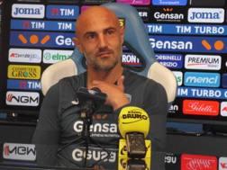 Massimo Maccarone, attaccante dell'Empoli