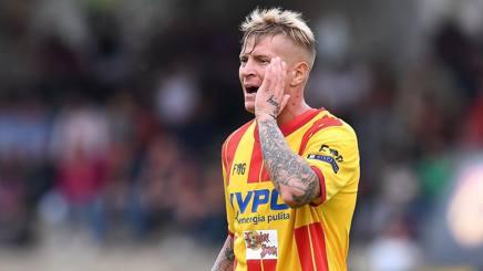 Amato Ciciretti, 22 anni, attaccante del Benevento. LaPresse