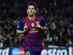Lionel Messi, 29 anni. LaPresse