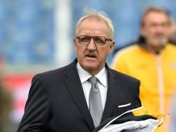 Luigi Delneri, tecnico dell'Udinese dopo l'esonero di Iachini. Ansa