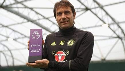 Chelsea, Conte Manager of the Month di ottobre in Premier League