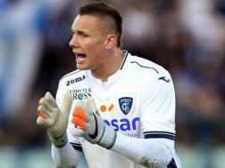 Lukasz Skorupski, 25 anni, portiere dell'Empoli in prestito dalla Roma. Getty Images