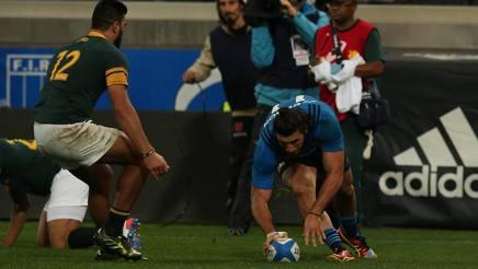 Rugby: l'Italia ha fatto la Storia! Battuto il Sudafrica! 20-18