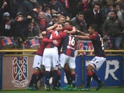 Il Bologna contro il Palermo torna a vincere dopo sette giornate LAPRESSE