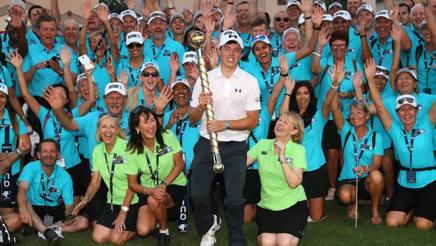 L'inglese Matt Fitzpatrick, vincitore del Dp World Tour di Dubai. Getty Images