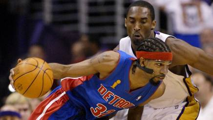 """Nba, Rip Hamilton: """"Quando tolsi il sorriso dalla faccia di Kobe..."""""""