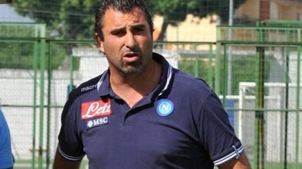 L'allenatore del Napoli Primavera, Giampaolo Saurini.