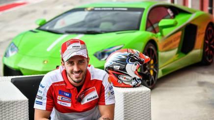 Andrea Dovizioso e Lamborghini insieme in gara