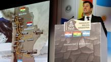 Marc Coma presenta il percorso della Dakar 2017. Reuters