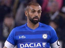 Danilo, difensore dell'Udinese, 32 anni. Lapresse