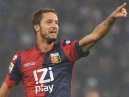 Luca Antonini, 34 anni, ex calciatore, al Genoa dal 2013 al 2015. Ansa