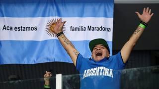 Diego in tribuna per trascinare l'Argentina contro il  tabù di Davis
