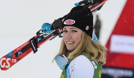 Mikaela Shiffrin, 21 anni, seconda nel gigante di Soelden. Ap