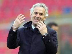 Roberto Donadoni, tecnico del Bologna. Ansa
